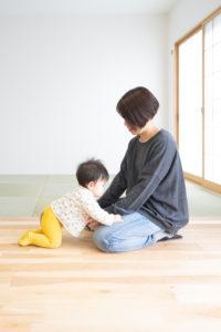 小さなお子さまにも優しい、広くて明るい空間に。